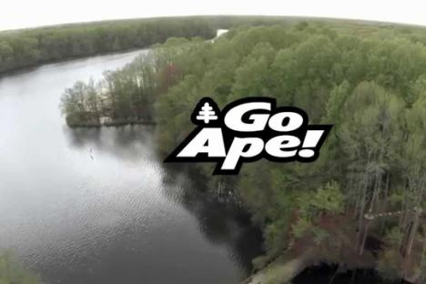 Embedded thumbnail for Go Ape Treetop Adventure