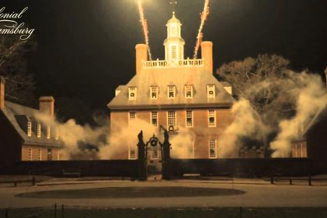 Embedded thumbnail for Colonial Williamsburg Grand Illumination