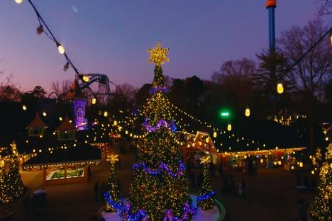 Embedded thumbnail for Busch Gardens Christmas Town